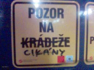 upozorneni z prazske tramvaje