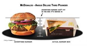 Fast Food Advertising Vs The Truth3