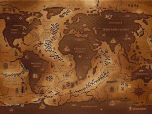 mapa naopak