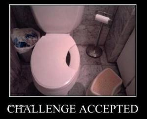Challenge accepted today