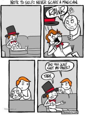 Nestraste kouzelnika