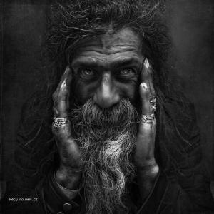 Bizarre Black and White Portraits3