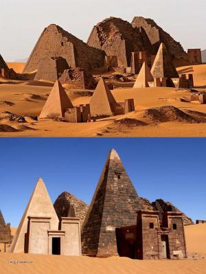 black pharaohs pyramids 1