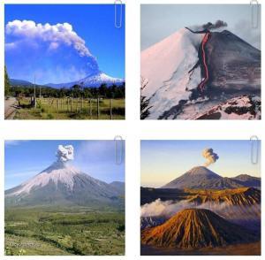 Beautiful World Volcanoes