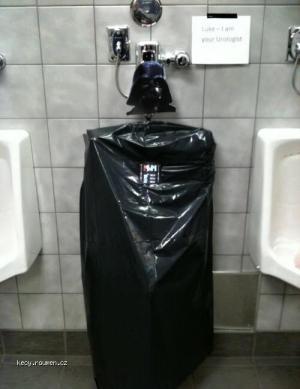 Pee on the Dark Side