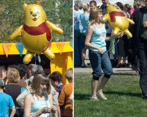 Pooh jako balonek