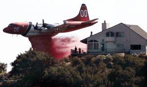 Kalifornie v plamenech