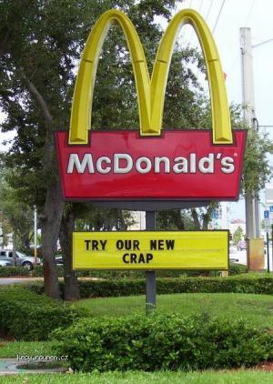 McDonald crap