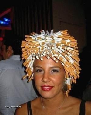 popelnik na hlave