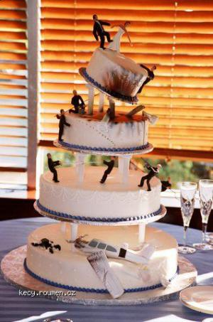Weddingcakeforwhenyoujustknowthemar