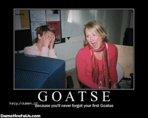 your first goatse