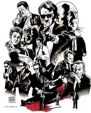 Quentin Tarantino Movie Fan Art3