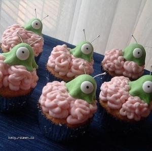 mozkozrouti muffiny