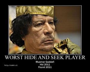 X Muamar Gaddafi