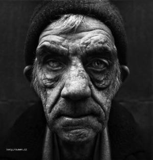 Bizarre Black and White Portraits1