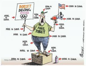 protesty proti Cine