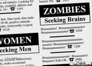 zombies seeking braaaaaaaains