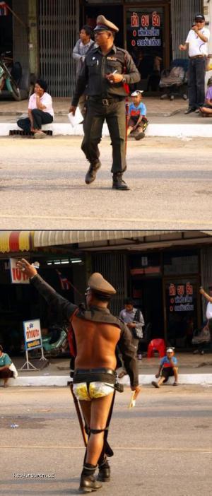 posranej policajt