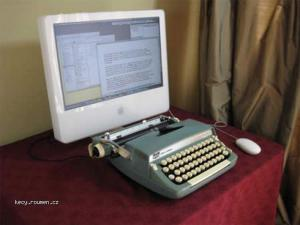 inovace psaciho stroje