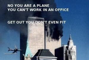 get out plane 911