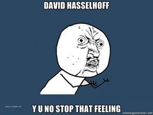hasselhoff feeling