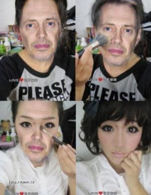 buscemi makeup