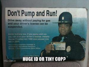 Dont pump and run