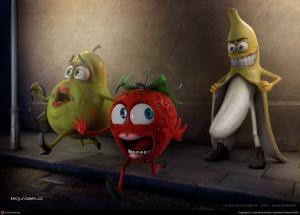 banana exhibicionista