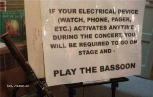 Electrical Device Warning
