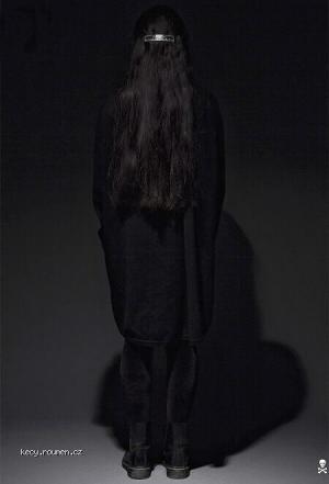 black mystery woman