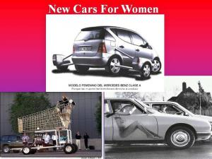 New cars for woman