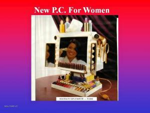 New PC for women