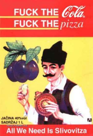 coca and pizza