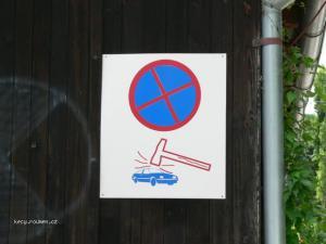 rozumne zduvodneny zakaz parkovani