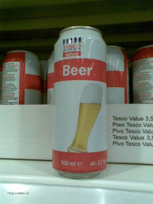 Tesco Beer