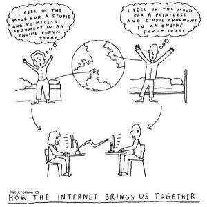 X Internet Brings Us Together