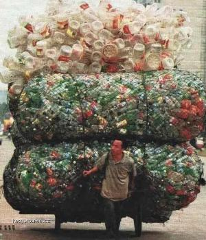 Thats a Lot of Recycling