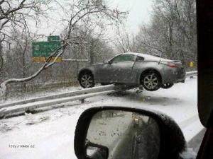 jak odstavit vozidlo na dalnici