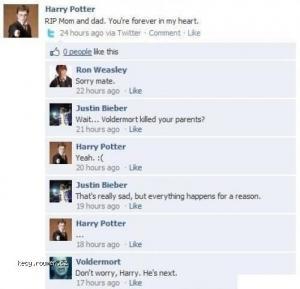 bieber on facebook