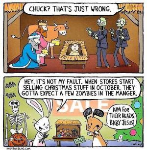 X Chuck  cartoon