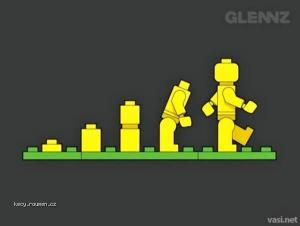 Evolution From A Different Angle  lego