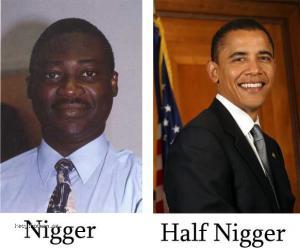 obama not a nigger