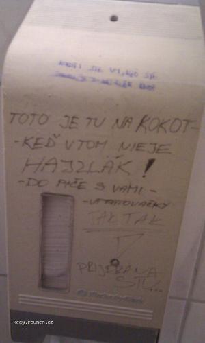 na WC
