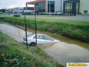 Vacant parking spot