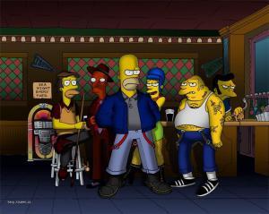 Homer skinhead