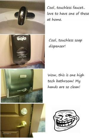 tech bathroom