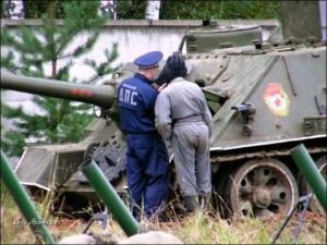 Styria tankisti a policajt