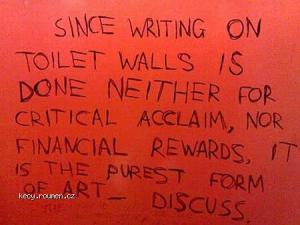 Toilet Graffiti 10pureart