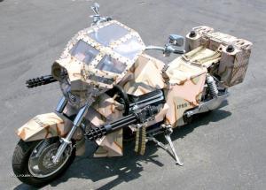 Armored Bike