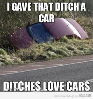 ditch car